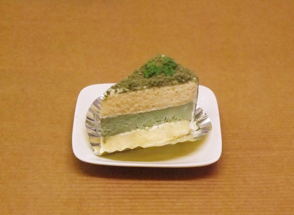 星野村抹茶のプディングケーキ